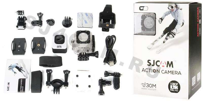 Комплект SJCAM M10 Cube mini WIFI