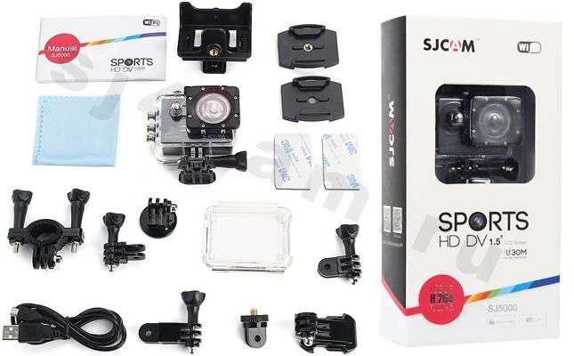 Комплект SJCAM SJ5000 WiFi